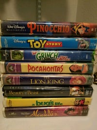 Childrens VHS tapes Oro Valley, 85755