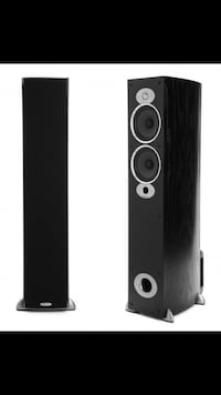 Tower speakers and subwoofer