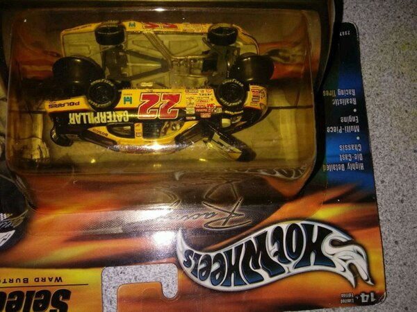 Hot Wheels select Ward Burton