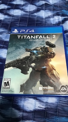 Sony PS4 Titanfall 2 Deluxe Edition case