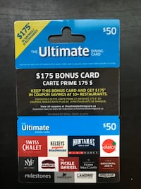 Ultimate Dining Card - $50