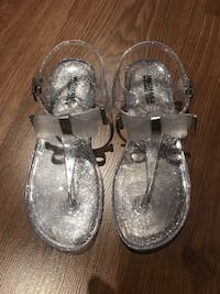 Michael Kors jelly lane bow sandals clear  Oshawa, L1G