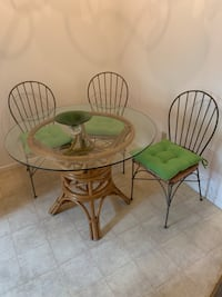 Table and chairs retro Torrance, 90503