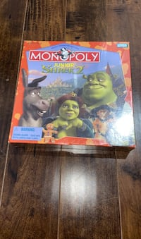 "Monopoly Junior ""Shrek 2"" brand new. Brampton, L6R 3E5"