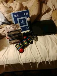 PlayStation 3 with games and accessories Moncton, E1E 0B2