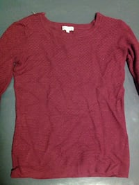 pull rouge à col rond Antibes, 06600