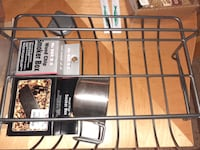 Brand new KitchenAid rack for ribs for barbecuing comes with wood chip