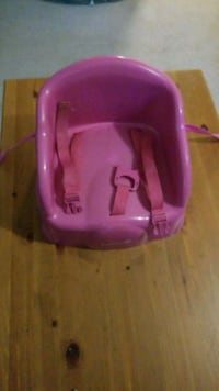 baby's pink plastic bather Edmonton