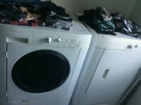 white front-load clothes washer and dryer set Brampton, L7A 0C2