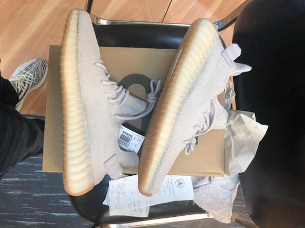 e9ae0ad0694b7 Used adidas yeezy boost 350 sesame size 10.5 deadstock for sale in ...
