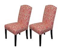 4 brand new beautiful dining room upholstered chairs  MCLEAN