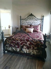 Elegant Wrought Iron Queen Size Bed Complete Southaven, 38671