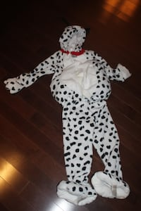 OLD NAVY DALMATION COSTUME SIZE 4T5T AJAX