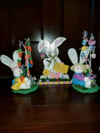 Lot of 3 Easter Decorations.   All brand new  Clinton, 01510