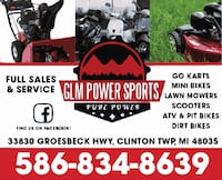 ATV , SCOOTER , LAWN MOWER REPAIR AND SERVICE