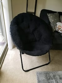 black and gray moon chair Columbia, 21046