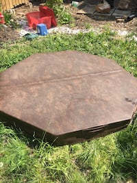 "72"" 6 sided chestnut hot tub cover Hamilton, L8P 2J3"