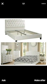 220 Queen diamond bedframe Today's Veterans Day Deal ONLY! Hollywood, 33023
