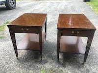 Mersman 25-22 Gently Used End Tables Princetown, 12306