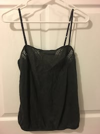 Charcoal gray tank top from American Eagle Central, 29630