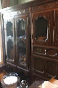 Antique cabinet, comes apart in pcs. Really nice!obo Boston, 40107