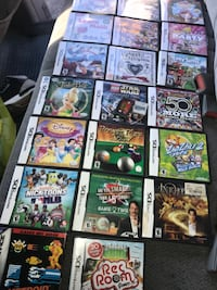 assorted Nintendo DS game cases Stockton, 95205