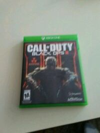 Xbox One Call of Duty Black Ops 3 game case East Troy, 53120