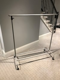 Clothes Hanger on Wheels