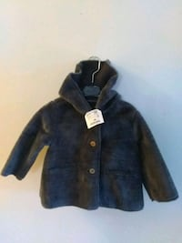 Brand New Zara Baby Girl Button Hooded Coats  New Bedford, 02740
