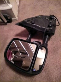 Heated remote tow mirrors E250 van