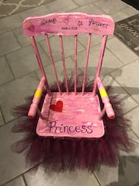 Toddler Princess Rocking Chair.