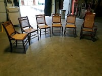 Wicker chairs and rocker, sold together or separat Arlington, 12603