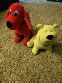 Clifford stuffed toys Costa Mesa, 92626