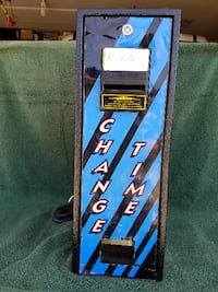 Change Time-$1 bill change machine