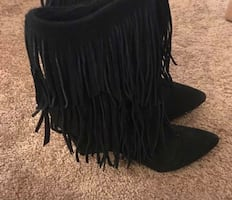 New Suede boots ....never been worn!!!