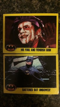 Batman and the joker trading cards Bloomington, 12411