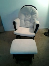 white and black glider chair Las Vegas, 89130