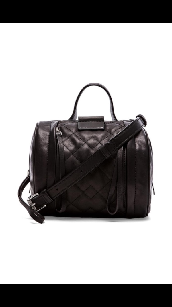 950a8712c1 Used Marc by Marc Jacobs Moto Quilted Barrel Bowling Bag for sale in  Edmonton - letgo