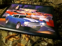 Car picture lights up  Rushville, 46173