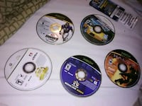 four assorted-title Sony PS3 game discs 829 mi