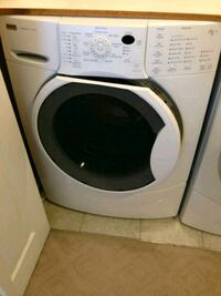 white front-load clothes washer North Las Vegas, 89031