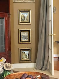 3 paintings with frame - price firm Fredericksburg, 22407