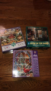 Set of 3 puzzles Los Angeles, 90004