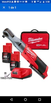 red and black Milwaukee power tool with box Nashville, 37217