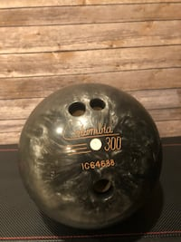 Columbia 9lb grey bowling ball with retro Columbia 2 ball bag  Owings Mills, 21117