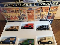 Matchbox 6 vehicles - Pills, Potions and Powers in box Valley View, 44125