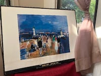 """Honfleur Jette"" Art Print by Raoul Dufy Germantown"