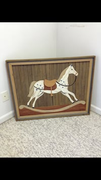 Rocking Horse Picture  31 wide x 27 tall Cumming, 30040