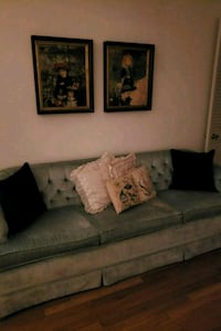 gray suede 2-seat sofa Annandale, 22003