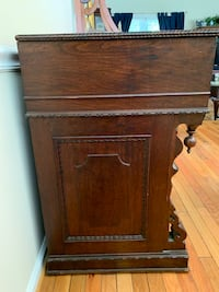 Antique Walnut Sideboard Vienna, 22180